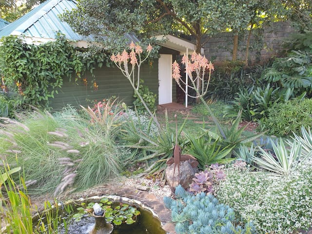 Idyllic garden cottage