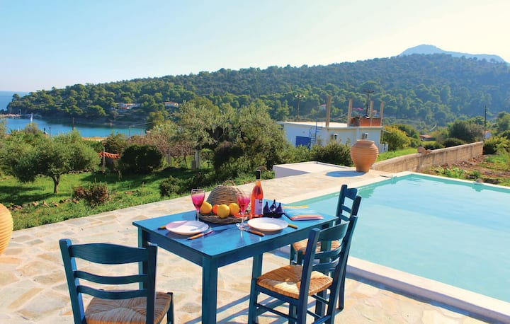 Awesome home in Aegina with WiFi and 2 Bedrooms