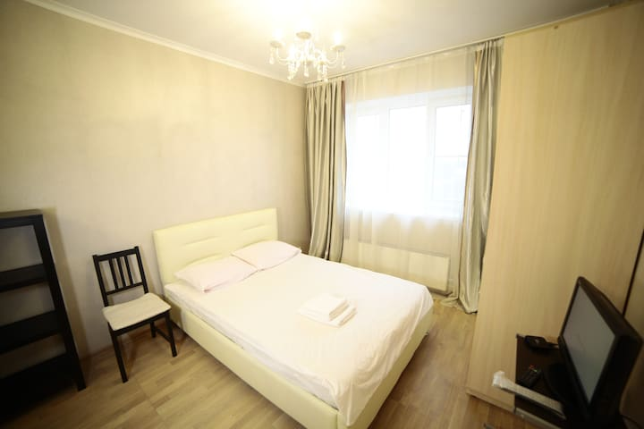 NEW cozy apartment close to aeroport Sheremetyevo