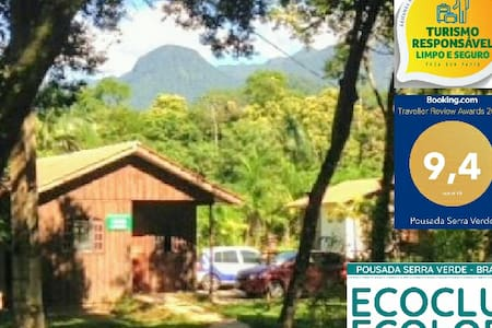 Chalé Família 1 Pousada Serra Verde
