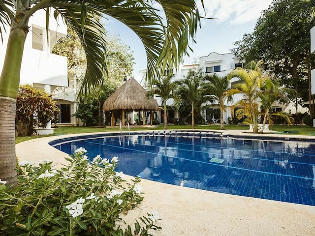 Beautiful private place at the Mayan Caribbean Sea - Плайя-дель-Кармен - Дом