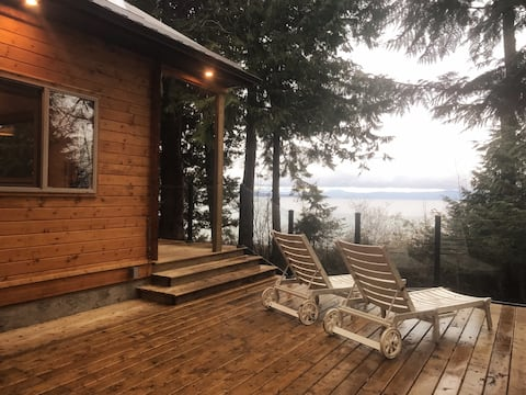 Rustic luxury in private beachside cabin