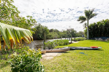 """3/2 Home w/ Sailboat Lot""""A Fisherman's Dream Home"""""""