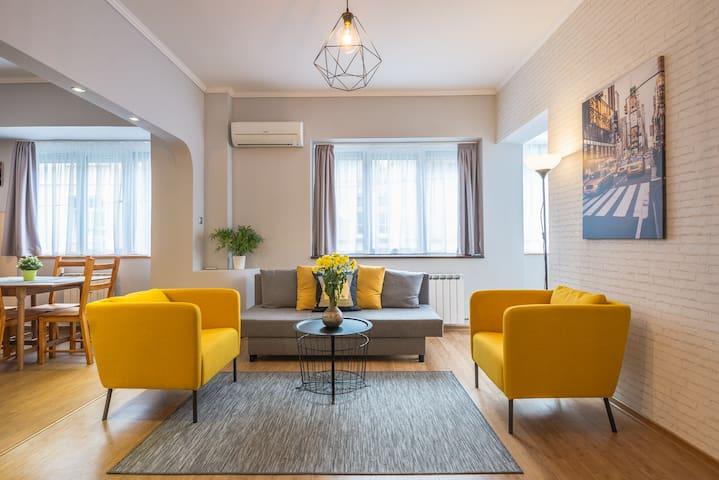 5th Avenue Sofia   2-BDR, 2-BTHR Positano Suite