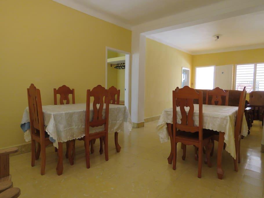 Big and comfortable Dinning Room