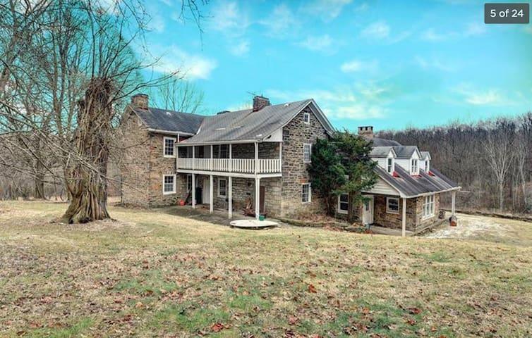 Circa 1805 Stone Farmhouse