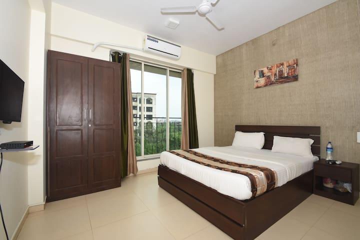 Spacious Private Room in Navi Mumbai - Navi Mumbai - Apartemen