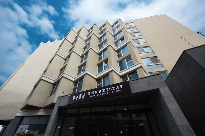The Artstay Hotel-디럭스 트윈(바다전망)-1