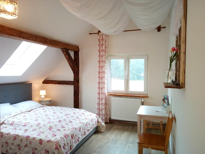 Romantic room in the countryside Czech Switzerland