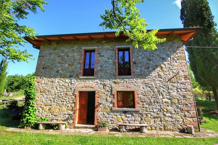 Striking Farmhouse in Ortignano with Private Swimming Pool