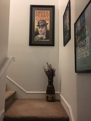 Stairs to second story