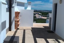 Our roof top terrace area