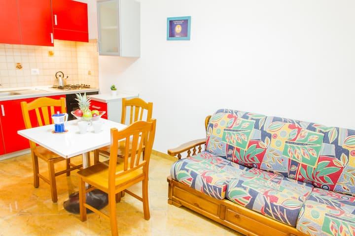 Gaia, low cost apartment