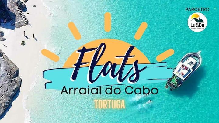 Flats Arraial do Cabo - TORTUGA - Parceiro Lu&Du