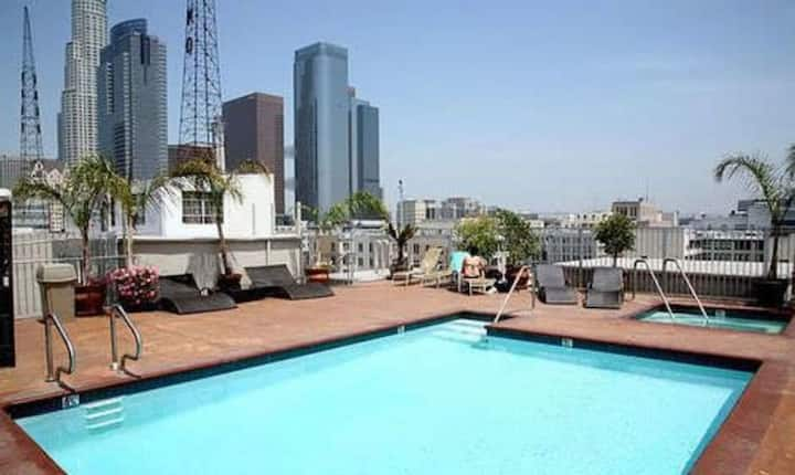 DOWNTOWN LA LOFT ROOF TOP POOL & JACUZZI