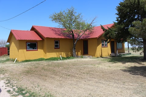 The Yellow House on Tule Creek~Bring Your Horses!