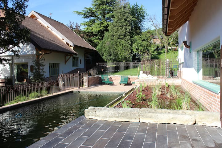 le clos des burgondes grand f3 de 75m2 - Domessin - Earth House