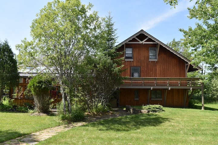 Large Lakefront Home in Lake Clear