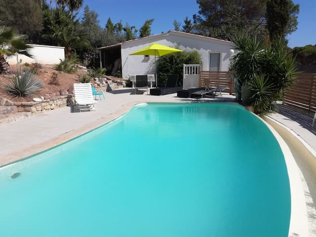 Appartement et piscine