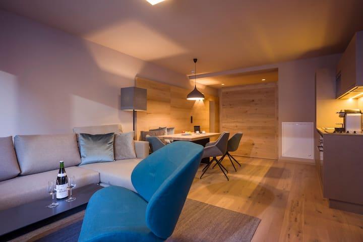 Luxus-Apartment ENZIAN mit 1 Schlafzimmer - Mayrhofen - Kondominium