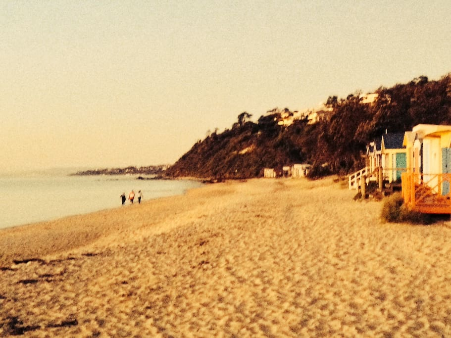 Another glorious afternoon on Mills Beach.