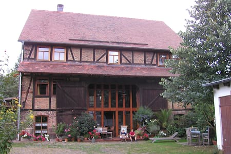 Live in a historical farm with short tram access - Kassel