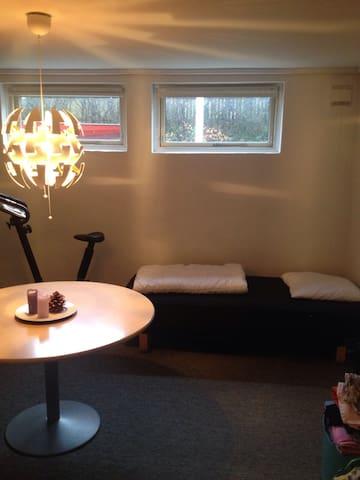 Lys kælder værelse, egen indgang. - Esbjerg