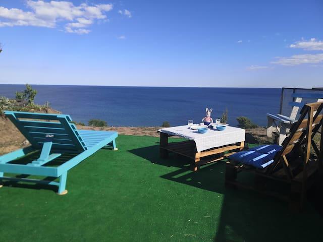 Сдам домик(или два по запросу) с видом на море