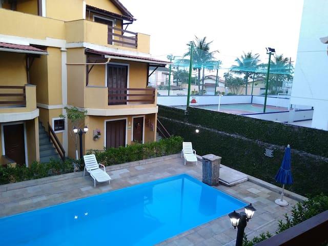 Casa-Villagio ao lado da Praia Maitinga-Bertioga