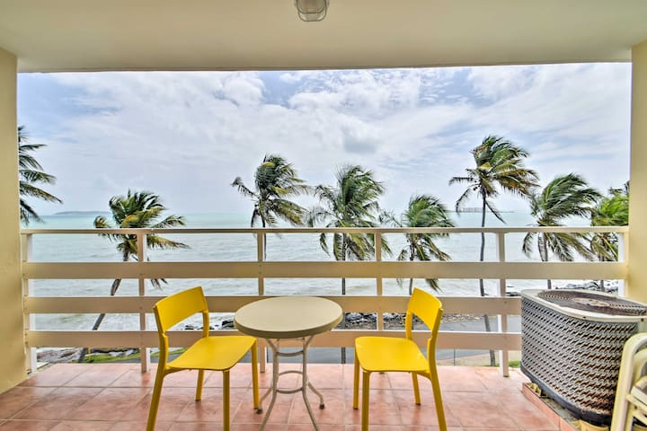 NEW! Fajardo Resort Studio w/Beachfront Balcony!