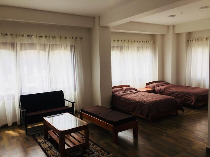 Choni Apartment Deluxe Double room.