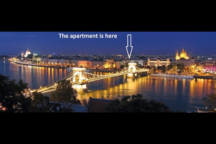 N14 60m2 Budapest City Center 2 Bedroom, + LivingR - Boedapest - Appartement