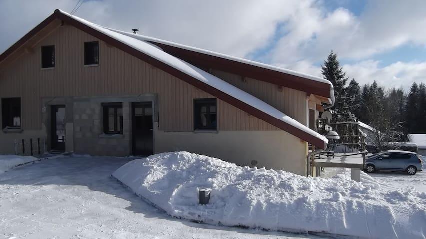 Loft en pleine nature - Maisons-du-Bois-Lièvremont - Pis