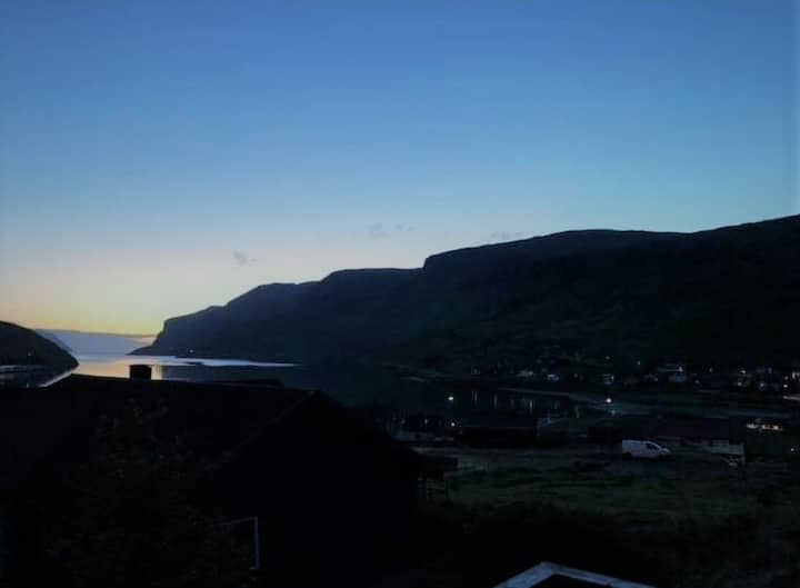 New house with a great view near Vagar Airport.
