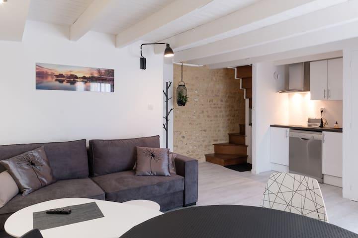 """Gîte en pierre à 10"""" du Futuroscope et de Poitiers"""
