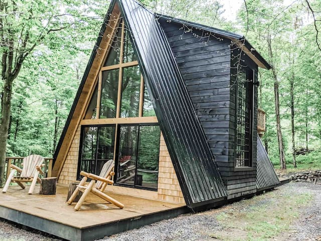 The A-Frame at Evergreen Cabins
