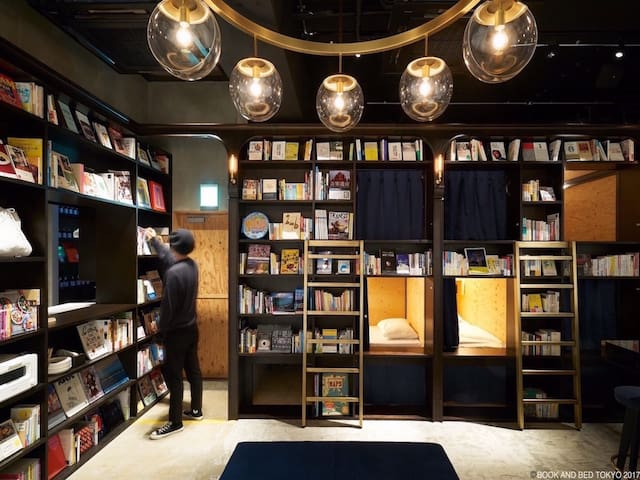 BOOK AND BED TOKYO ASAKUSA Dormitory  Standard bed