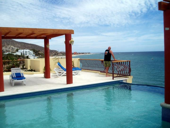 Beachfront condo on the very best beach in Baja