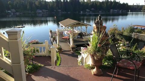 Lake Roesiger Waterfront-Private 2 Bedroom Getaway