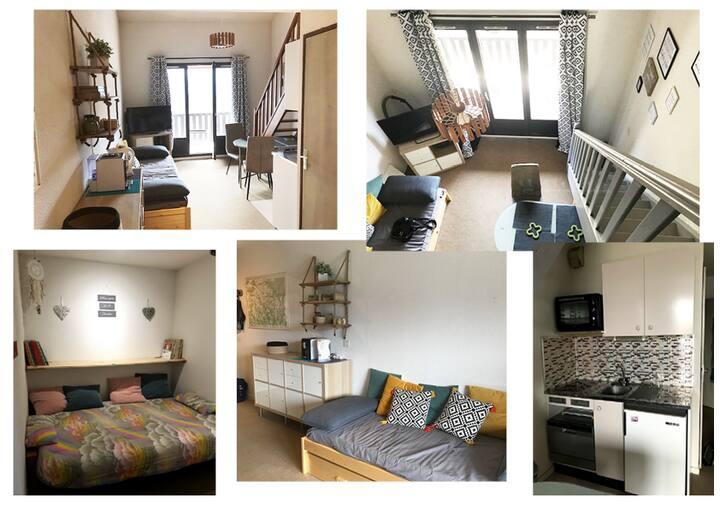 Appartement T3 avec Mezzanine