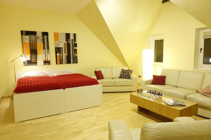 Schöne 108 qm Wohnung in Messe- und Flughafennähe
