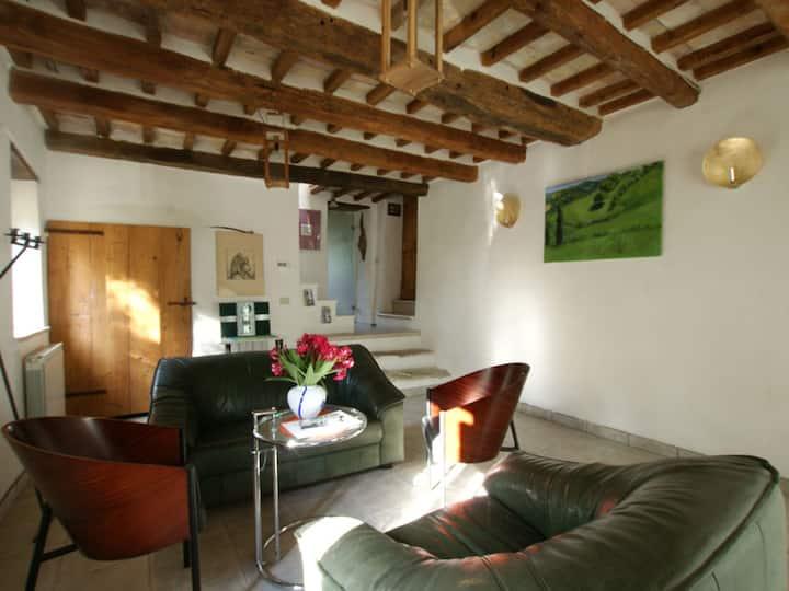 Poggio delle Querce, (Arcevia), Ferienhaus, 125qm, 3 Schlafzimmer, max. 6 Personen
