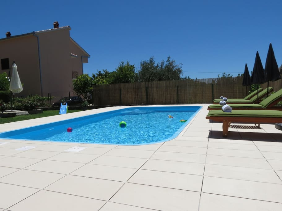 Pool and loungres