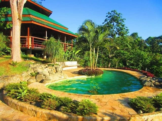 MADRESELVA (Jungle Bungalow + Pool + Kitchen)