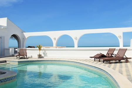 Los Arcos.. Oceanfront Resort - Chuburná - Дом