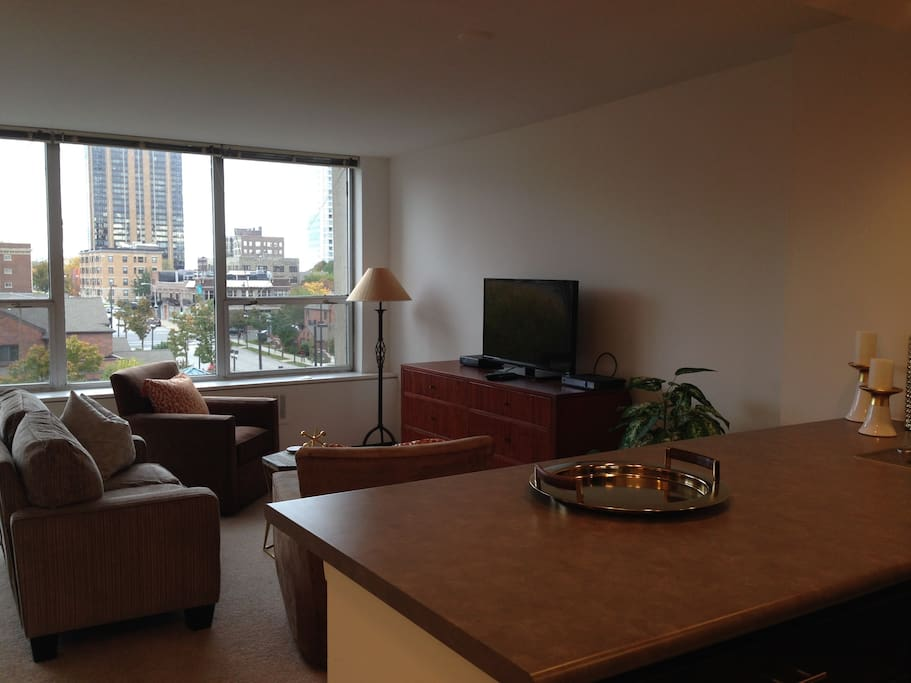 Private Apartment in Downtown Milwaukee