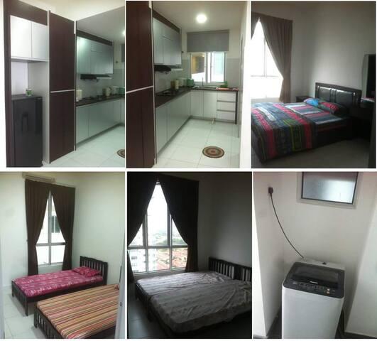 Home Sweetest Home :-) - Bandar Saujana Putra - Lägenhet