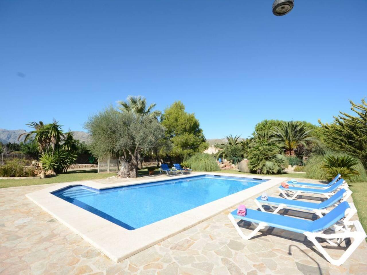Finca Can Pou | Villa w/ pool near Pollença