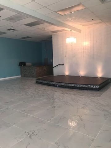 Vacant Banquet Hall Commercial Building