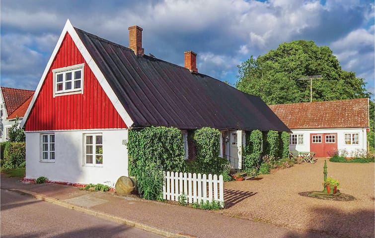 Holiday cottage with 2 bedrooms on 92 m² in Sjöbo